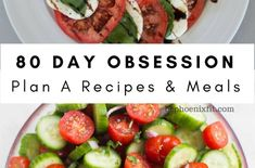 80 Day Obsession Recipes for 25 Meals! - Amanda Seghetti