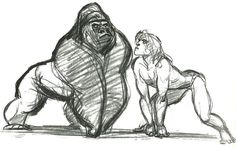 © Walt Disney Studios Motion Pictures   by Glen Keane   with other artists *                              *                       *         ...
