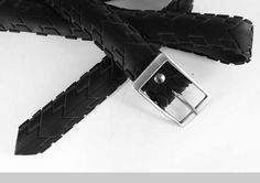 Belt made from used tires.