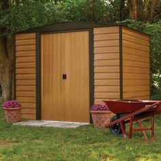 Have to have it. Arrow Shed Woodridge 6 x 5 ft. Steel Storage Shed - $304.82 @hayneedle