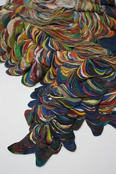 Andrea Myers   fabric sculptural works