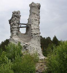 Burgruine Rauenstein in Rauenstein.