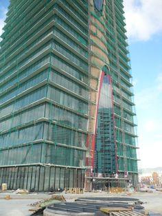 Torres Porta Fira Edificios hotel y oficinas en la Plaza Europa, L'Hospitalet de Llobregat. Barcelona. España / Toyo Ito AA y Fermín Vázquez (b720 Arquitectos)