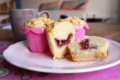 Colazione per tutti: Muffins con farina di riso, latte di soia e sorpresa :-)
