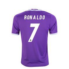 bf0483b33 2016 2017 Cristiano Ronaldo Jersey Number 7 Away Youth Real Madrid Soccer  Cristiano Ronaldo Real