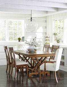 Save up to off on the Heyerly Trestle Table from Amish Outlet Store in any wood and stain. Each piece is custom made by highly-skilled Amish crafters. Dinning Room Tables, Dining Table Design, Dining Room Furniture, Dining Set, Wood Furniture, A Table, Oak Table And Chairs, Room Chairs, Furniture Design