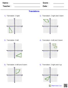 Geometry Worksheets | Quadrilaterals and Polygons Worksheets ...