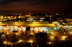 Djenaa El Fna Plaza, Marrakech, Morocco. 100 places to go before you die.