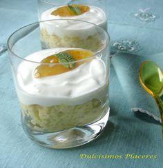 Arroz con naranja, azafrán y yogur griego