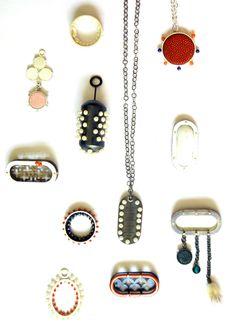 Klimt02:BRIDIE LANDER-UK Silver & Sulphur Waterloo Australia exhibitions unique custom jewelry custom handmade jewellery exhibitions