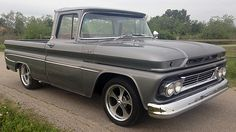 1961 Chevrolet Apache Pickup 4-Speed, Vintage Air presented as lot F64 at Dallas, TX 2015