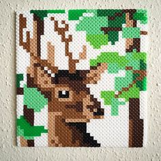 Deer perler beads by lvbradley7