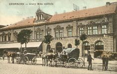 Így nézett ki Debrecen száz éve - Múltidéző Építészet