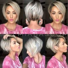 Best Cute Short Haircuts 2019 Best Cute Short Haircuts Is it accurate to say that you are exhausted with your typical hairstyle? Would you like to make a flawless short hairstyle? Short Hairstyles For Thick Hair, Cute Short Haircuts, Short Hair Cuts, Curly Hair Styles, Short Hair With Undercut, Short Wavy, Haircut And Color, Undercut Hairstyles, Hair Undercut