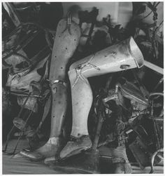 Artificial limbs, Auschwitz, Poland by Michael Kenna, 1993