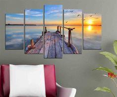 Panel Art, Tapestry, Ceiling Lights, Sunset, Living Room, Artist, Painting, Inspiration, Home Decor
