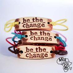 buy a bracelet-gives clean water to poor children in africa! cute and worthy cause <3
