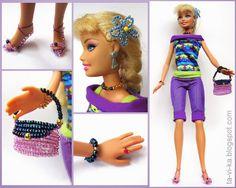 Кукольные аксессуары Barbie Dolls, Princess Zelda, How To Wear, Character, Clothes, Dresses, Style, Decorations, Usa