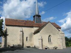 L'église de Saint-Dizier-les-Domaines, Creuse, Limousin