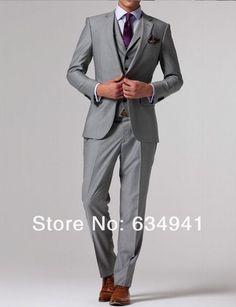 Garrett loves: light gray, light purple, nice cut and fabric.