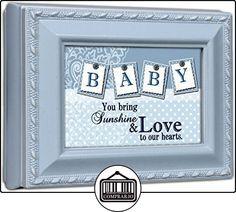 Baby Boy Cottage GardenBlue Finish Small Keepsake Jewelry Box by Cottage Garden  ✿ Regalos para recién nacidos - Bebes ✿ ▬► Ver oferta: http://comprar.io/goto/B00KSGBEB0