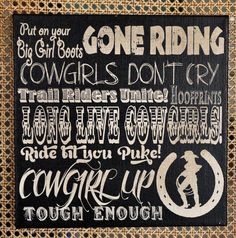 Cowboy Sayings Cowgirl And Cowboys On Pinterest