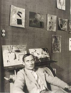 Black & White Treasure Trove - Joan Miró, Paris, 1936, by Albert Eugene Gallatin