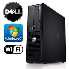 Introducing Business Computer Dell 780  Core 2 Duo 333GHz 4GB DDR3 New 1TB HDD Windows 7 Pro WiFi Prepared by ReCircuit. Great product and follow us for more updates!