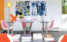 Interior Design of a home by Karim Rashid