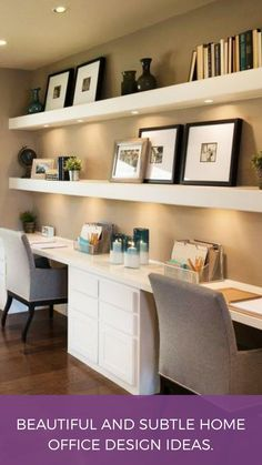 Beautiful and subtle home office design ideas . #HomeDecorAccessories,