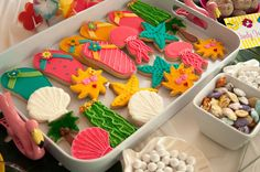 Cookies at a Luau Party #luau #partycookies