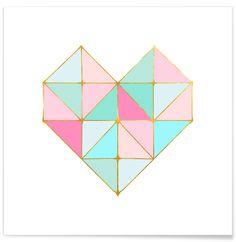 Summer Heart - Monika Strigel - Premium poster