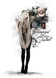 """""""OLYMPIAD WILL FALL;"""" by athousandshadesofblue ❤ liked on Polyvore"""