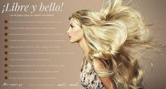 ¡Déjalo #libre y lúcelo con #orgullo! Tener #cabello perfecto sin productos costosos. #Beauty #Belleza #Mujer