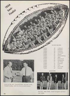 1965 Taylor High School Yearbook via Classmates.com