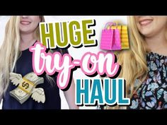 10e30e511e Summer Try-On Clothing Haul + Victoria Secert Semi-Annual Haul!