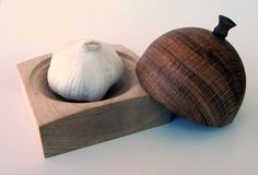 Handmade+Wood+Garlic+Keeper+by+RichardAltenhofen+on+Etsy,+$40.00