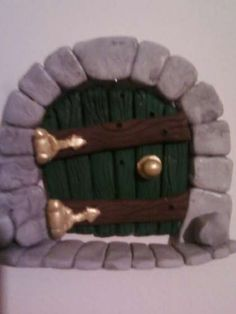 How to make fairy doors from polymer clay