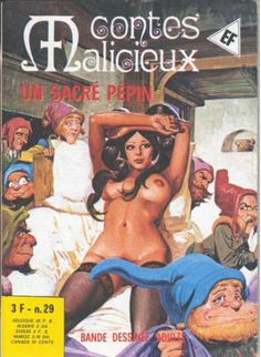 Cover for Contes Malicieux (Elvifrance, 1974 series) #29