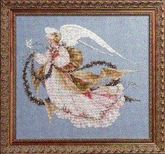 Angel of Summer by Lavender and Lace - Cross Stitch Kits & Patterns