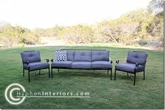 Spray Paint Patio furniture cushions with Simply Spray Fabric paint