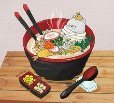 28번째 이미지 Aesthetic Art, Aesthetic Anime, Wallpaper Doodle, Cute Food Drawings, Chibi Food, Arte Obscura, Kawaii Art, Food Illustrations, Totoro