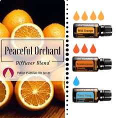 Essential oil diffuser blend!