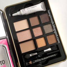 Hard Candy Neutral Eyes Eyeshadow Palette en -> Little Fairy Blog Haul Usa: NYX, Revlon, Aussie, Nivea, Freeman y Más!