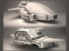 Concept Spaceship by ~StkZ613