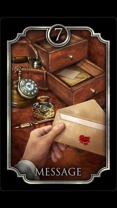 Message tarot card