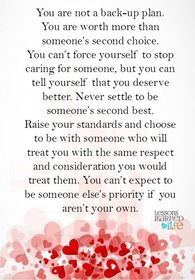 You are not second best. (Pinned from the social network for people with MS: MyMSTeam.com) #multiplesclerosis Great Quotes, Me Quotes, Inspirational Quotes, Motivational, Godly Quotes, Bitch Quotes, Quotes Images, Choices Quotes, Lessons Learned In Life