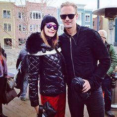 "santress: ""My favorite Vampire #true blood @alexander skarsgard AKA Eric Northman #sundance 2015."" -stacymilon @ instagr.am"
