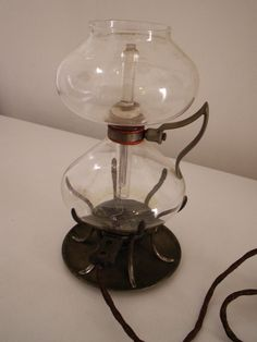 Antique Vacuum Silex Hartford Coffee Maker With  Heating Element