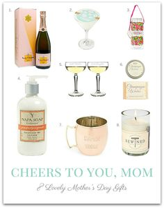 Wine inspired gifts for Mom. // The Shopping Mama